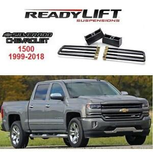 NEW* READYLIFT BLOCK KIT 66-3002 224686568 CHEVROLET SILVERADO 1500 1999-2018