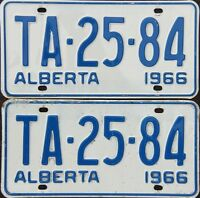 Looking for 1966 Alberta plates