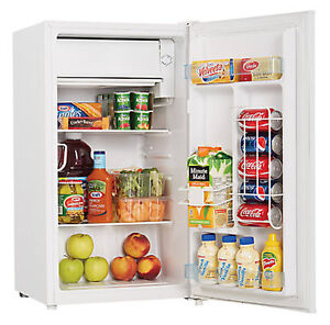 Danby 3.3 cu. ft. Compact Fridge in White Almost New