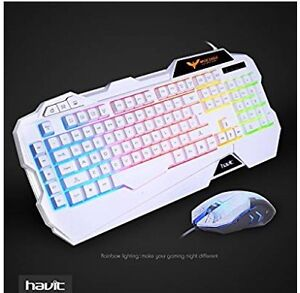 HAVIT Wired Gaming Keyboard and Mouse