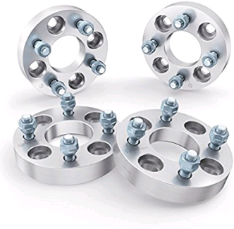 """4x 1"""" (25mm) 4x108 to 4x100 wheel adapter/spacer"""