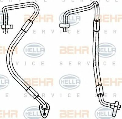 MAHLE BEHR Aircon pipes and hoses PREMIUM LINE - AP126000P