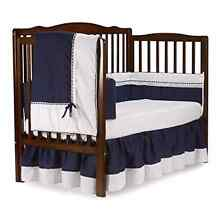 Baby Doll Royal Crib Cot Bedding Set, Navy Auburn Auburn Area Preview