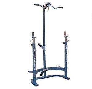 Liquidation 4 squat rack avec lat pulldown ( fermeture ) demo ne
