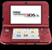 New nintendo 3ds xl plus games and accessories