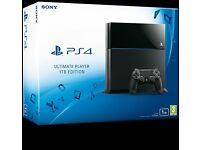 Black 1TB PS4