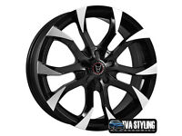 "NEW BMW 1 2 3 4 5 z3 z4 series Mini countryman paceman Alloy wheels 17"" inch 5x120 alloys wheel"