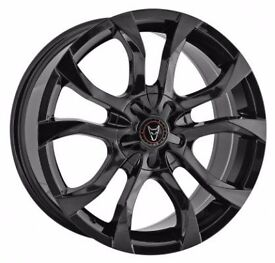"17"" WOLFRACE ASSASSIN ALLOY WHEELS **BRAND NEW** VARIOUS FITMENTS"