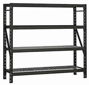 Husky Industrial Strength Welded Storage Rack With Wire Deck