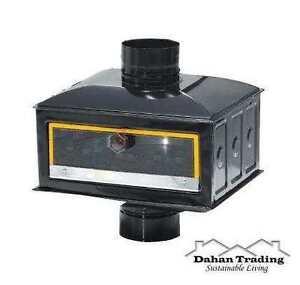 ... Oven 5 034 or 6 034 Wood Pipe Flue Chimney Stove Black or Brown  eBay