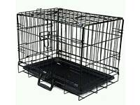 DOG PUPPY CAT RABBIT COLLAPSIBLE CRATE PET CAGE