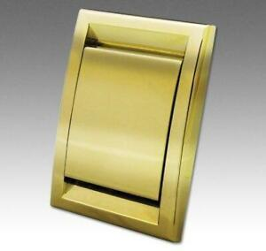 Deco Polished Brass Inlet