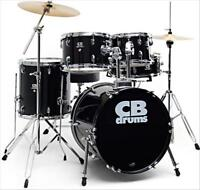 Black CB drum set for sale