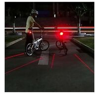REAR RED LASER FOR BICYCLE