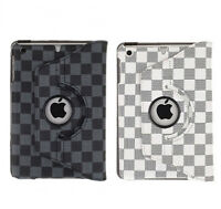 360 Degree Rotating Leather Case with Stand for iPad