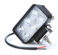 18WATTS LED WORKING LIGHT IP67 / lumiere de travail  camion DEL