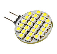 G4 1.5W 24x3528SMD 120LM White Light LED Bulb (12V)