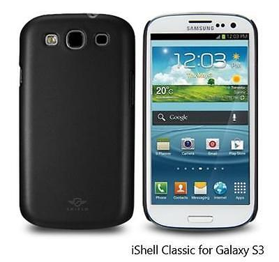 I9300 Snap (iShell Black Classic Snap-On Case + Screen Protector for Samsung Galaxy S3 i9300)