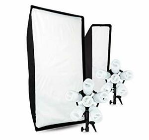 Westcott Spiderlite TD6, Daylight Fluorescent Bulbs, Softbox and