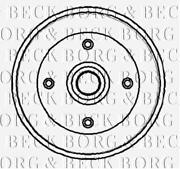 VW Beetle Rear Brake Drum