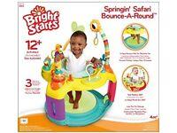 Bright start spining safari Jumperoo
