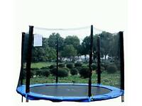 trampoline enclosure 10ft 6poles