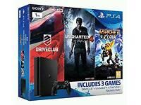 New PS4 1TB Console