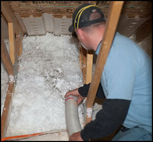 INSULATION: ATTICS / WALLS / REMOVALS / BSMNTS / GARAGES