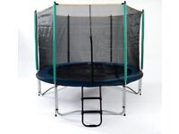 Atlantic Trampolines 8ft Never bounced on, Unused enclosure Cost over £300