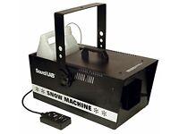 Soundlab snow machime