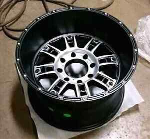 20x12 Ford 8 bolt wheels -44 offset XD Riot
