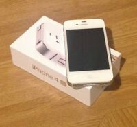 iPhone 4S blanc a vendre comme neuf