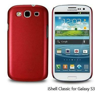 I9300 Snap (iShell Red Classic Snap-On Case + Screen Protector for Samsung Galaxy S3 i9300)