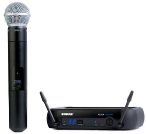 Brand new condition Shure PGXD24/SM58 wireless system
