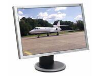 "Samsung SyncMaster 205BW - Silver/Black - LCD monitor - 20"""