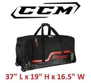 """NEW* CCM PLAYER DELUXE WHEELED BAG HOCKEY 37"""" L x 19"""" H x 16.5"""" W 105920995"""