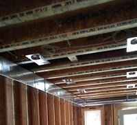 Markham HVAC DUCT WORK INSTALLATIONS, WE ALSO DO NEW BUILDS.