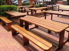 Picnic benches, wooden picnic tables, outdoor picnic tables Penshurst Hurstville Area Preview
