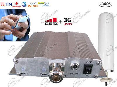 Amplificatore di Segnale e Ripetitore per Smartphone 3G/GSM Antenna esterna OMNI