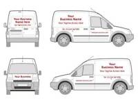 VEHICLE GRAPHICS Vans cars boats etc