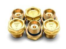Replaces General Pump Interpump Kit # 004 Brass Valve Caps and O-Rings GP K04