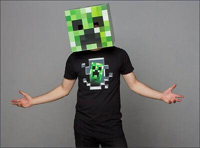 Creeper Minecraft Costume Halloween (Minecraft 12