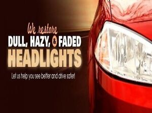 Barrie Headlamp Polishing Service Clean Clear Visibility $20.00