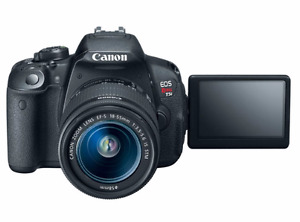Canon EOS Rebel T5i DSLR Bundle