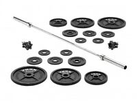 York 140kg weight set - save £95!