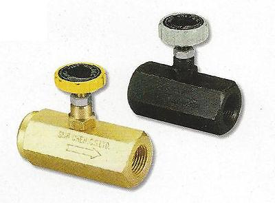 Hydraulic Flow Control Valve Throttle Valve 38 Pt Steel Cs-2003s