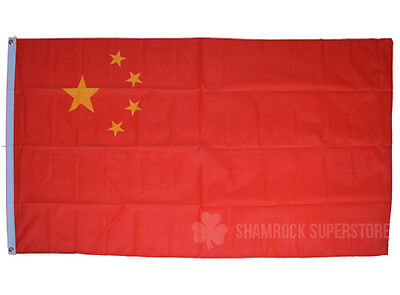 China Flag - 3 x 2 FT - 100% Polyester - National Country Chinese Communist Asia