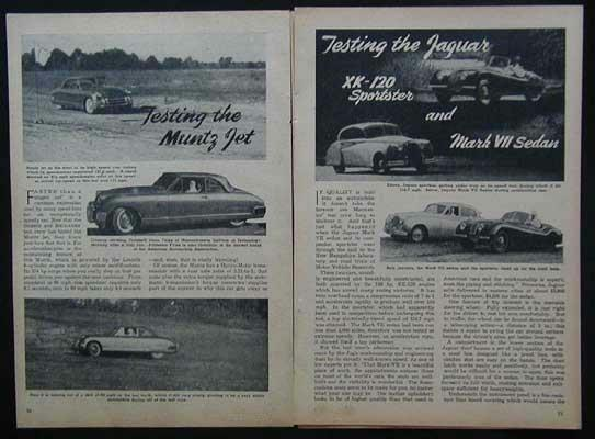 1952 Muntz Jet Converta Coupe & Jaguar ROAD TEST report