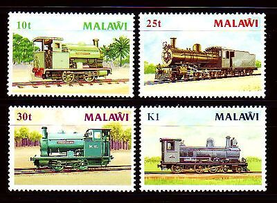 Malawi 1987 ** Mi.481/84 Eisenbahn Railway Locomotive Zug Train Engine [sq3061]