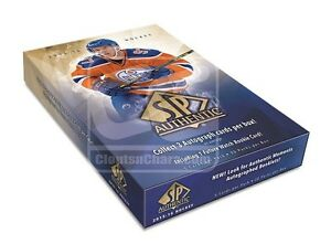 2015-16 Upper Deck SP Authentic Hockey Cards Hobby Box Kitchener / Waterloo Kitchener Area image 1